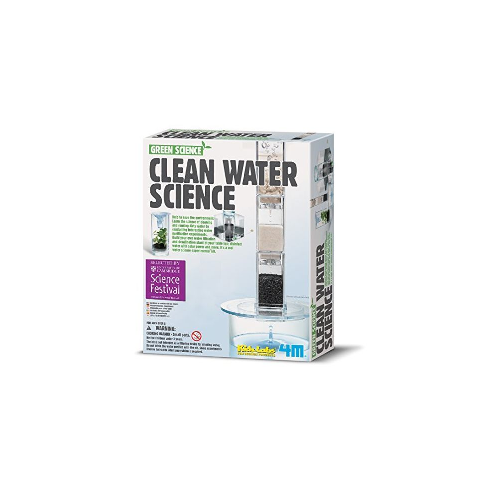 4M 4M Clean Water Science - Climate Change Global Warming Lab - STEM Toys Educational Gift for Kids & Teens Girls & Boys