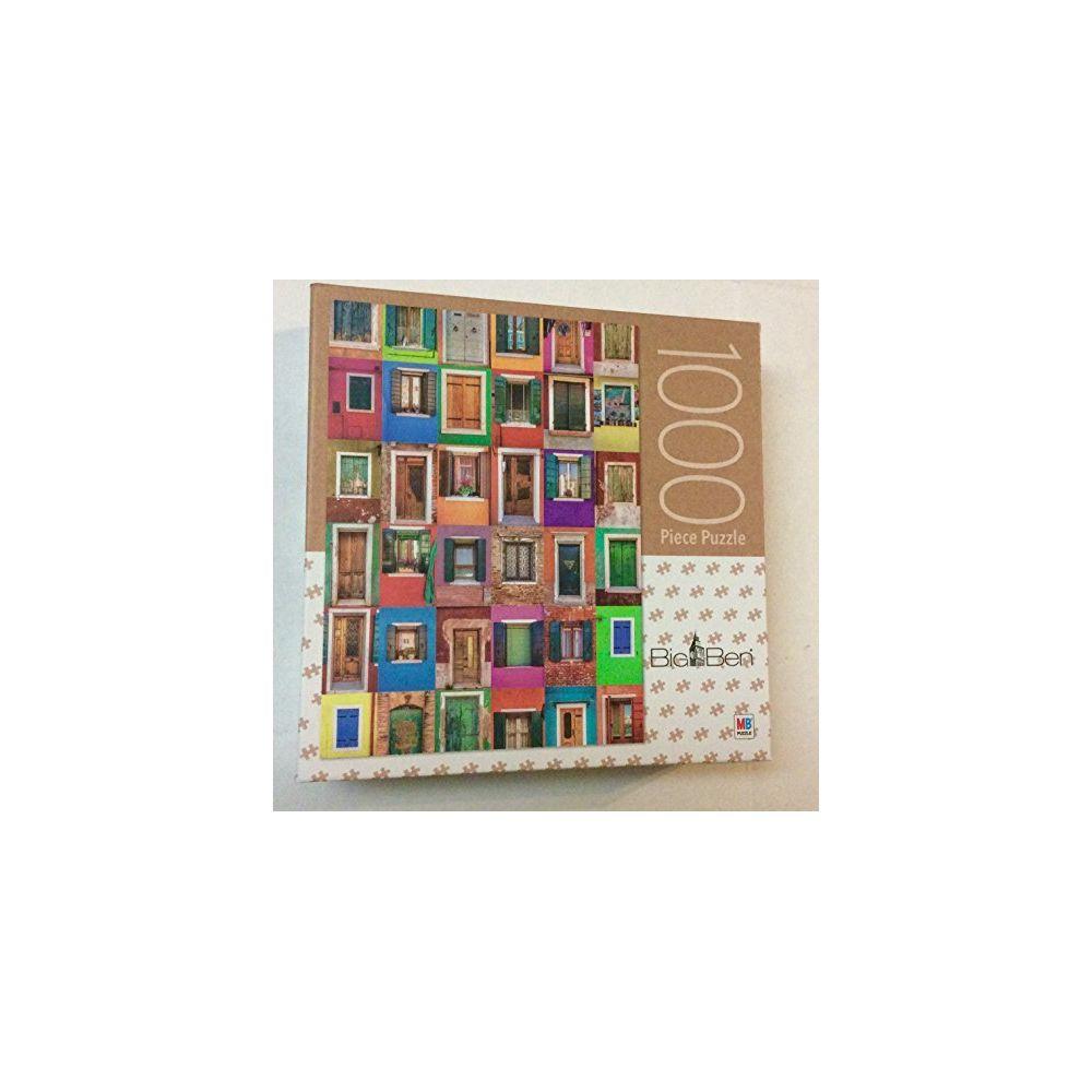 Bigben Collage of 36 Windows and Doors Big Ben 1000 Piece Puzzle