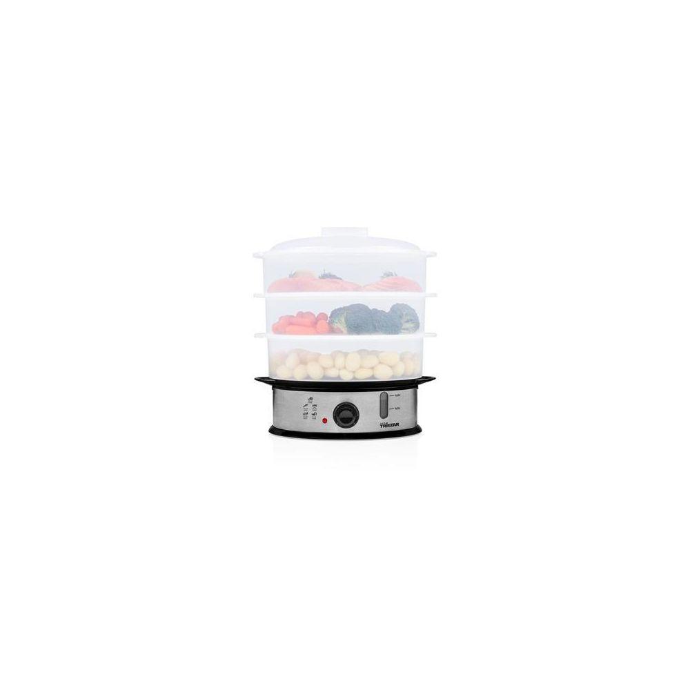 Tristar Cuiseur vapeur sans BPA 1200W gris