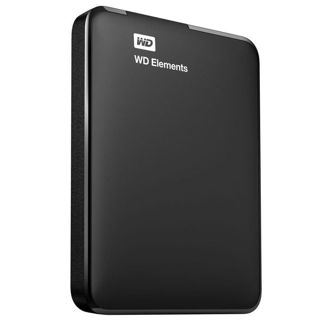 Western Digital - WD ELEMENTS 2 To - 2.5'' USB 3.0 - Cache 1 Mo - Noir Western Digital   - Disque Dur externe