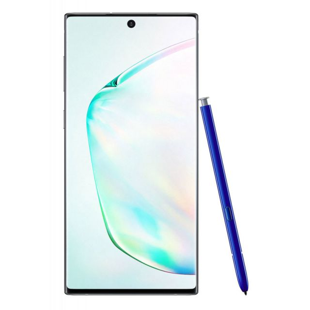 Samsung - Samsung Galaxy Note 10 - 256Go, 8Go RAM - Double Sim - Argent Stellaire - Smartphone Android 6.3 (16,0 cm)