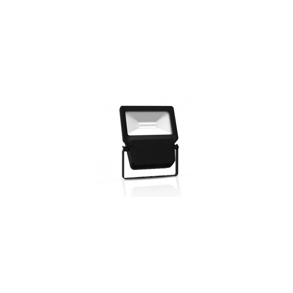 Vision-El Projecteur Exterieur LED Plat Noir 10W 6000 K