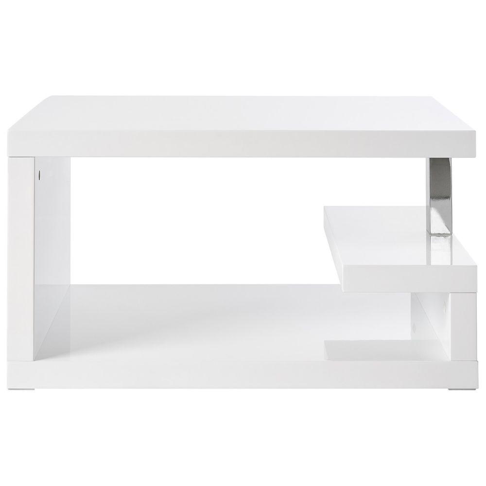Miliboo Table basse design laquée blanche REX