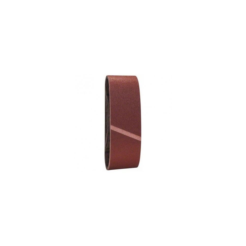 Bosch BOSCH Accessoires - 9 abrasifs a bande 74x533 grain60/80/100 -