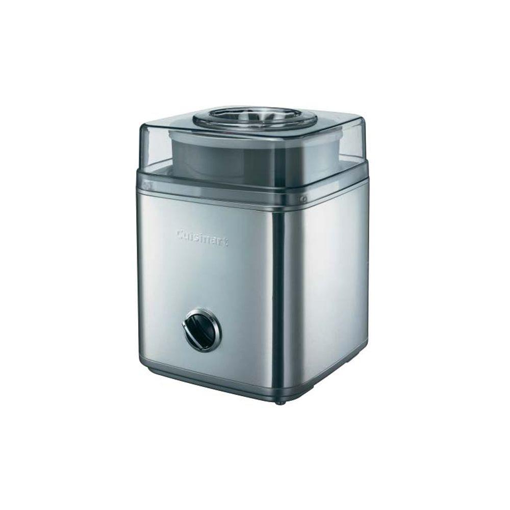 Cuisinart cuisinart - sorbetière 2l 25w aluminium brossé - ice30bce