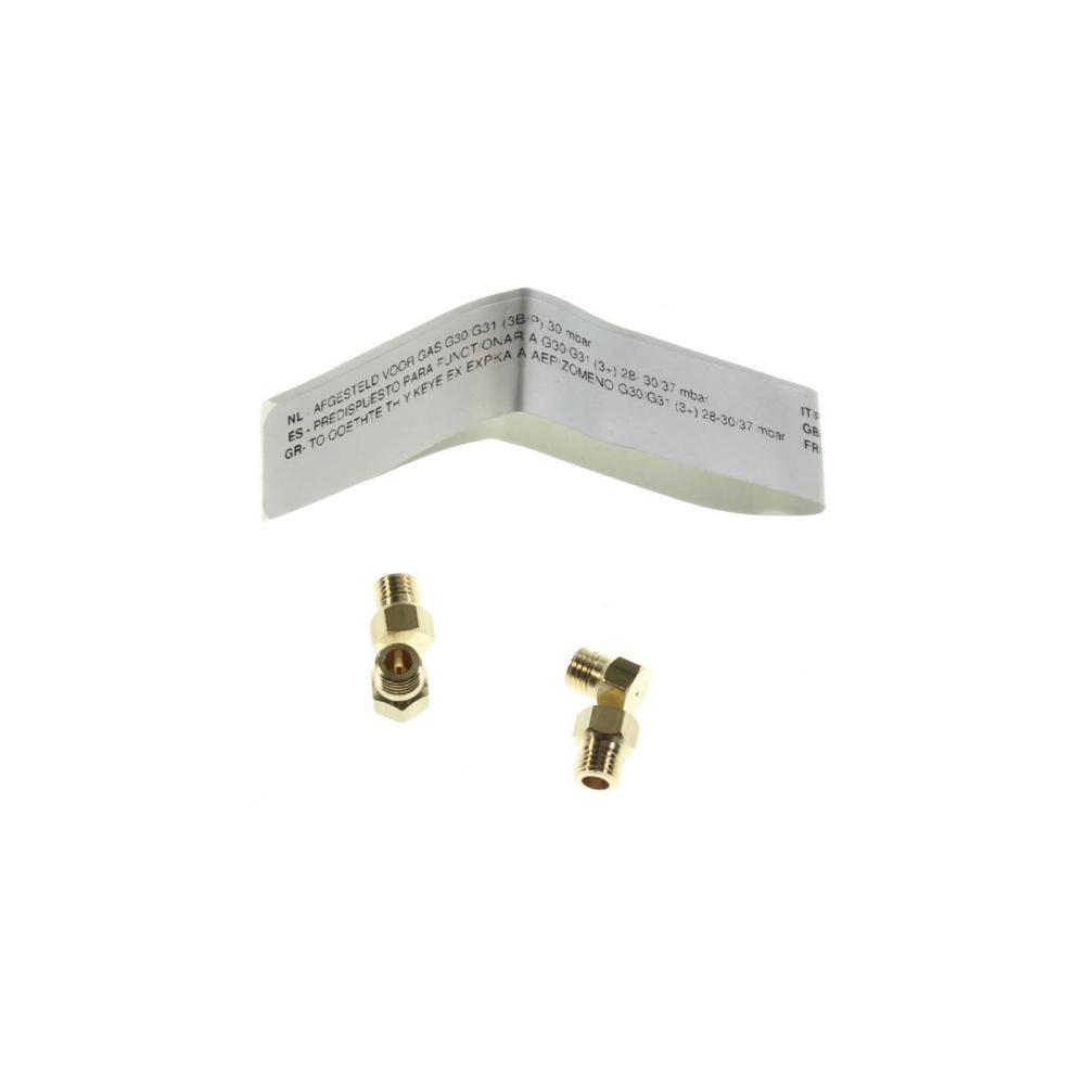 Whirlpool Kit Injecteurs Butane Propane reference : 481010696148