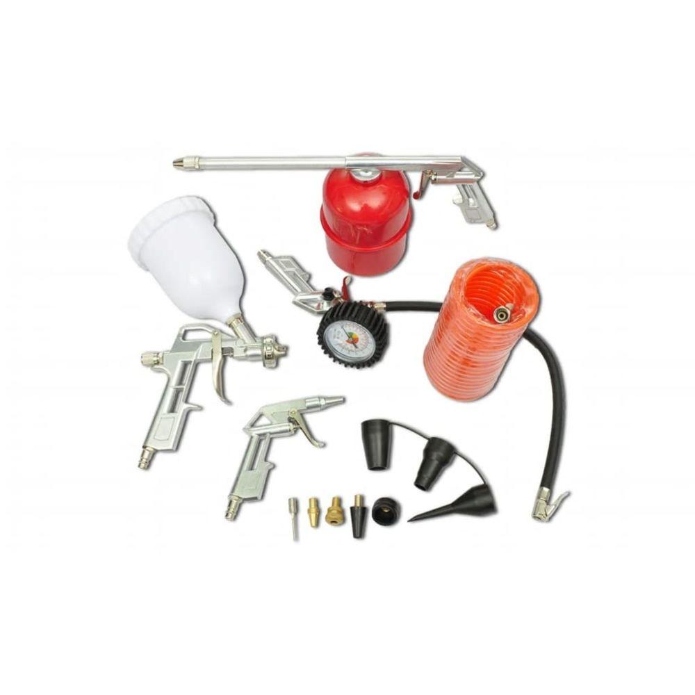 Vidaxl vidaXL Kit de pistolet à peinture pour compresseur