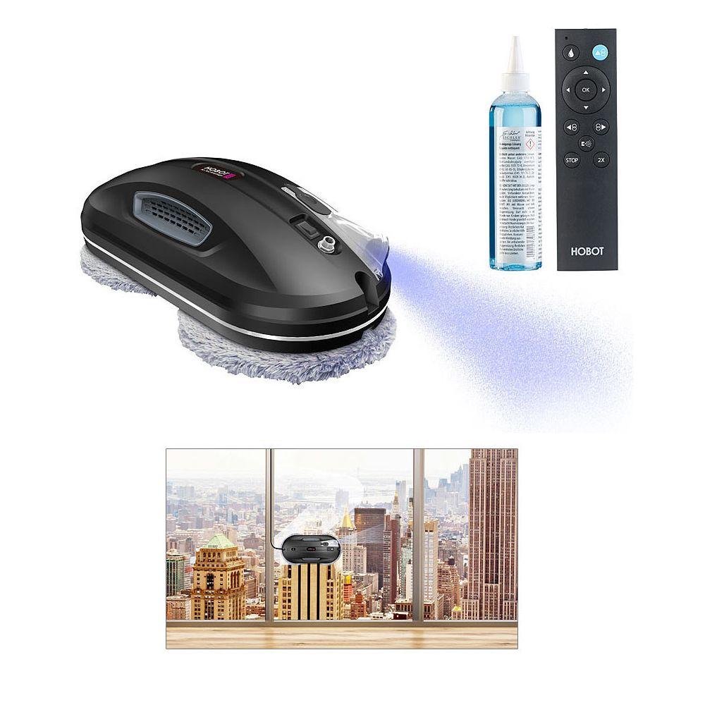 Sichler Haushaltsgerate Robot nettoyeur de vitres à fonction Bluetooth et pulvérisation PR-200