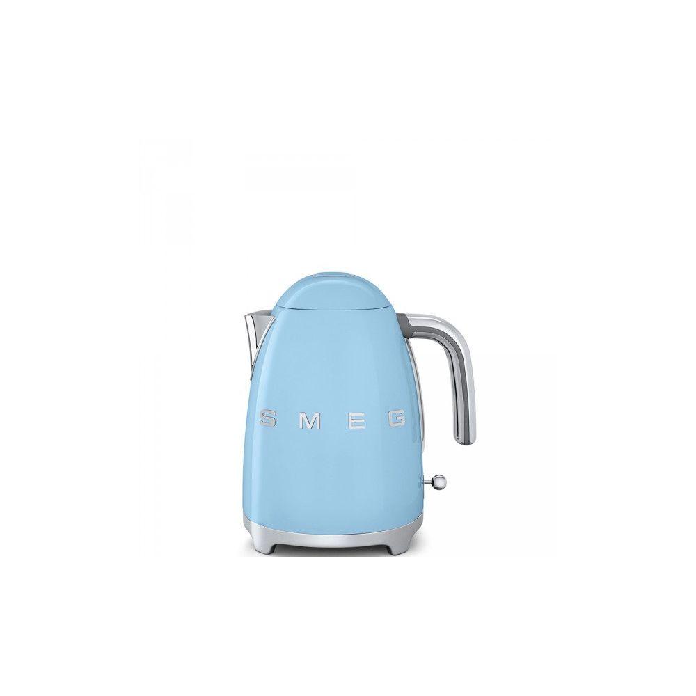 Smeg SMEG Bouilloire 1.7 Litre 360° Années 50 - 2400W Bleu Azur KLF03PBEU