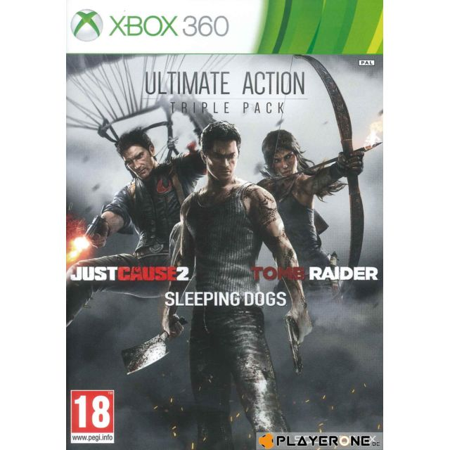 marque generique -ULTIMATE ACTION Triple Pack (JC2 + Tomb Raider + Sleeping Dogs) marque generique  - Tomb Raider