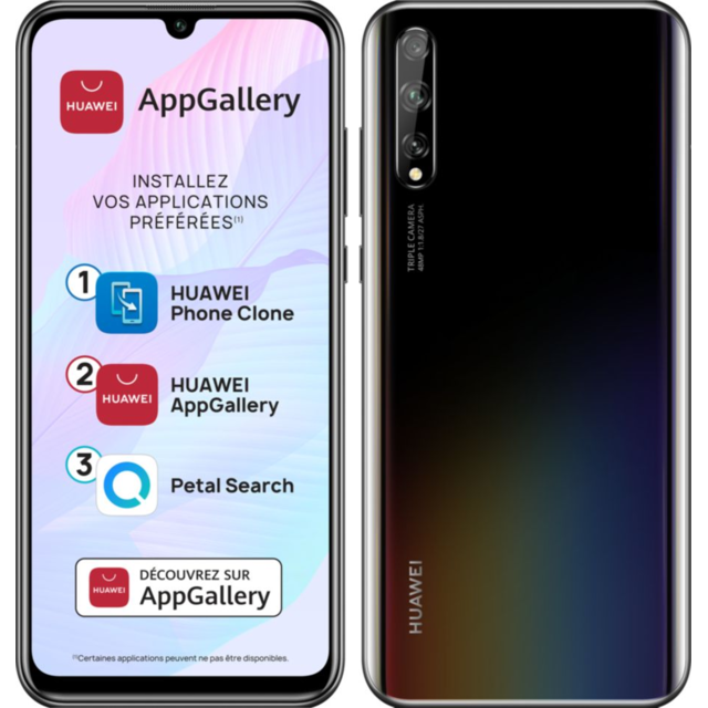 Huawei -P Smart S - 128 Go - Noir Huawei  - Smartphone Android 6.3 (16,0 cm)