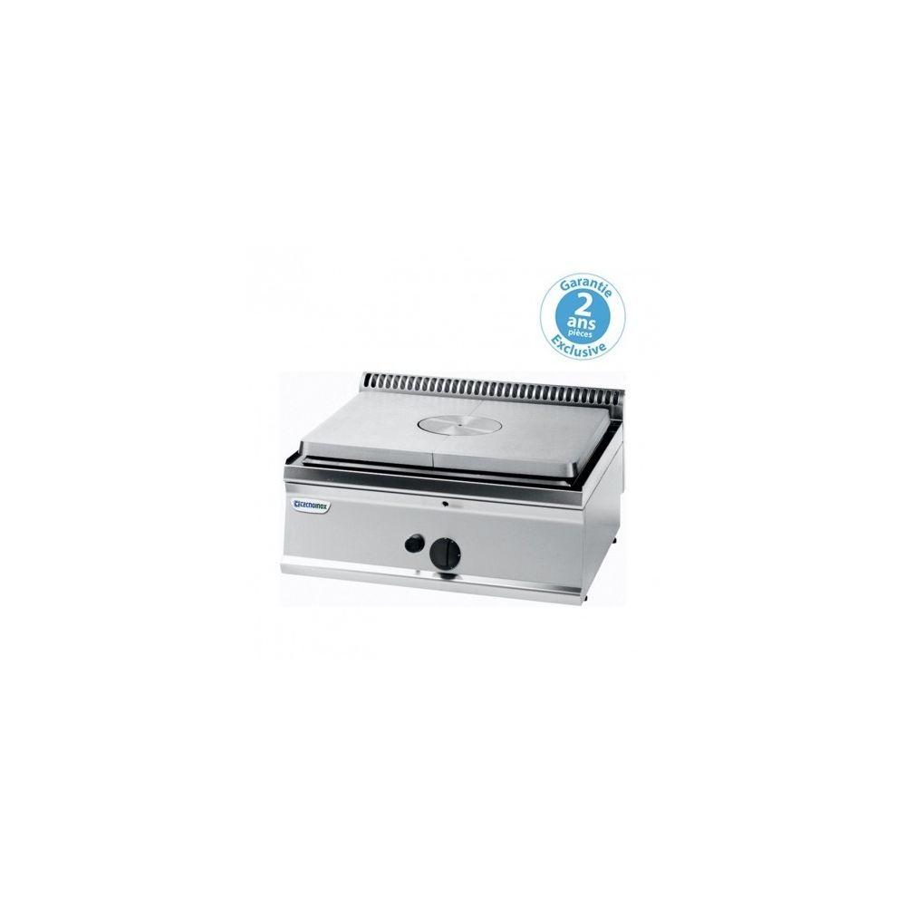 Materiel Chr Pro Plaque coup de feu à poser gaz - gamme 700 - Tecnoinox - 700