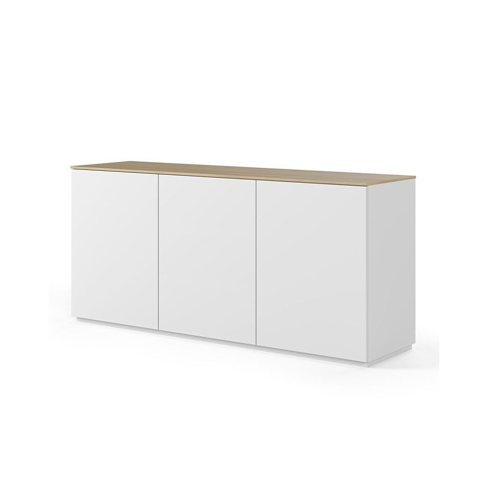 Paris Prix TemaHome - Buffet Design Join X 180cm Blanc & Chêne