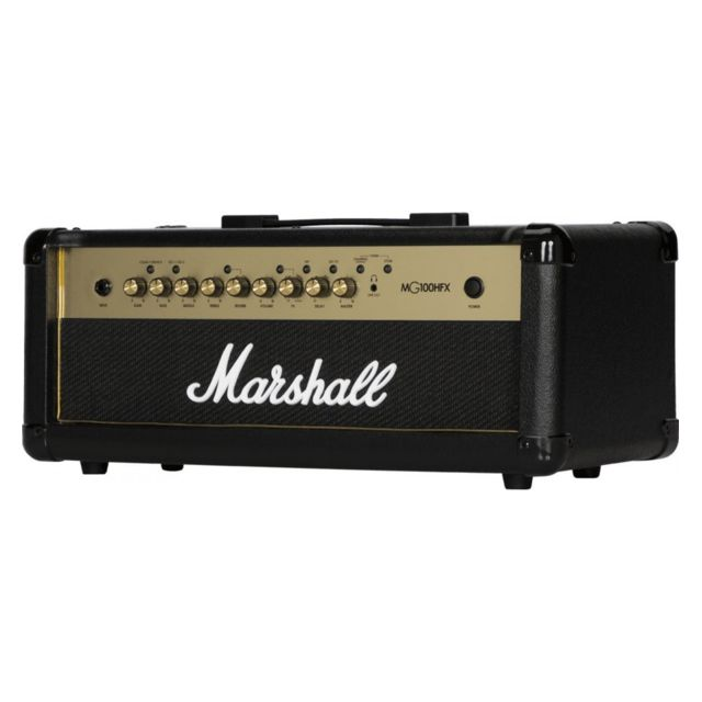 Marshall - Marshall MG100HGFX Gold 100 Watts - Tête ampli guitare électrique - Marshall