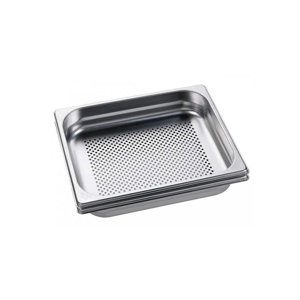AEG Set de cuisson acier inoxydable pour four vapeur aeg