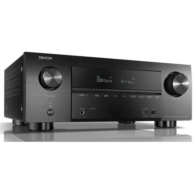 Denon - Denon AVR-X3500H - Amplificateur puissant 7.2 canaux - 7x180Watts - Dolby Vision, HDR, 4K - AirPlay, Bluetooth, Wi-Fi - Ampli