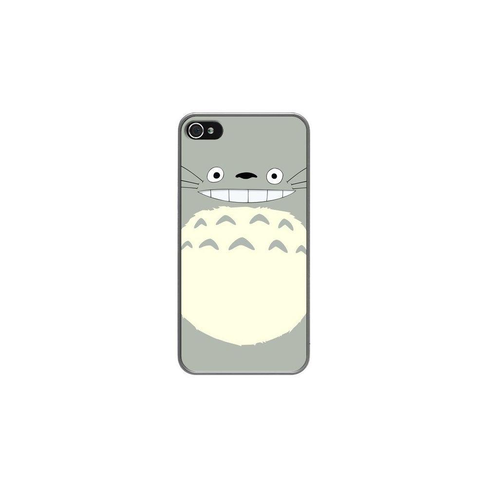 Apple - Coque iPhone 4 et 4S Totoro Content Manga - Bertrand ...