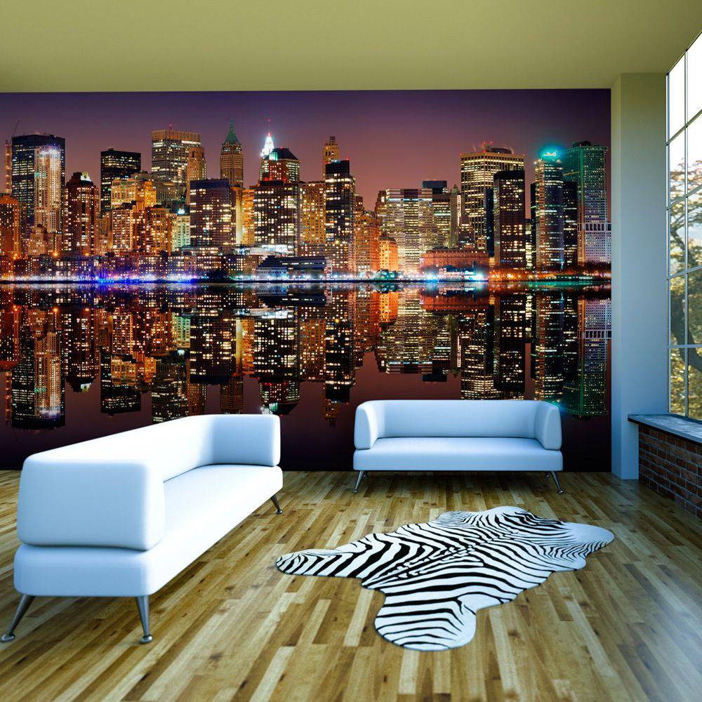 Declina Papier peint XXL - Gold reflections - NYC