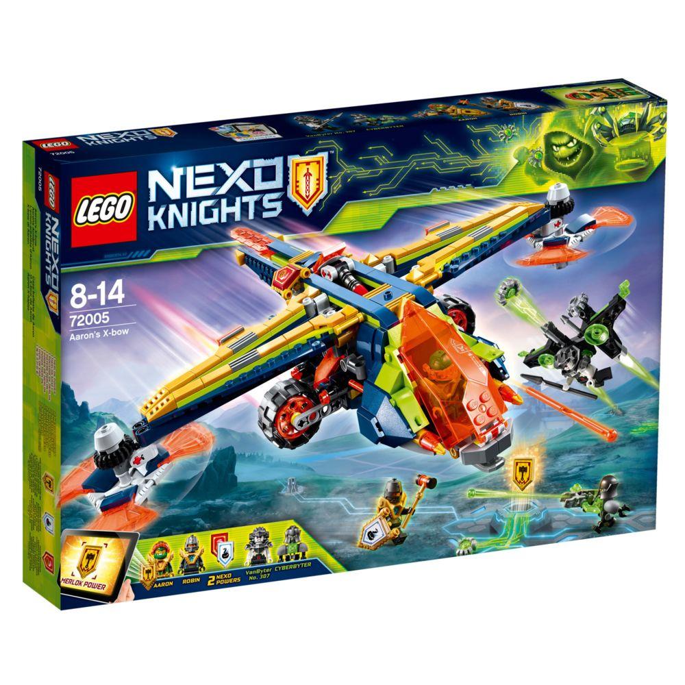 Lego LEGO® 72005 Nexo Knights: L'avion-arbalète d'Aaron