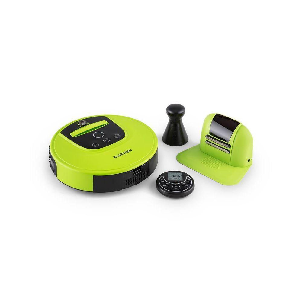 Klarstein Klarstein Cleanhero Robot aspirateur Automatique Télécommande vert Klarstein