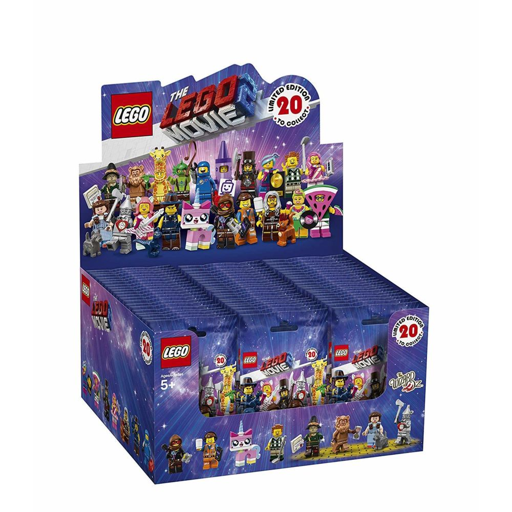 Lego LEGO Minifigurines - La Grande Aventure LEGO 2 (Boîte de 60 Sachets Individuels) - 71023 - Jeu de construction