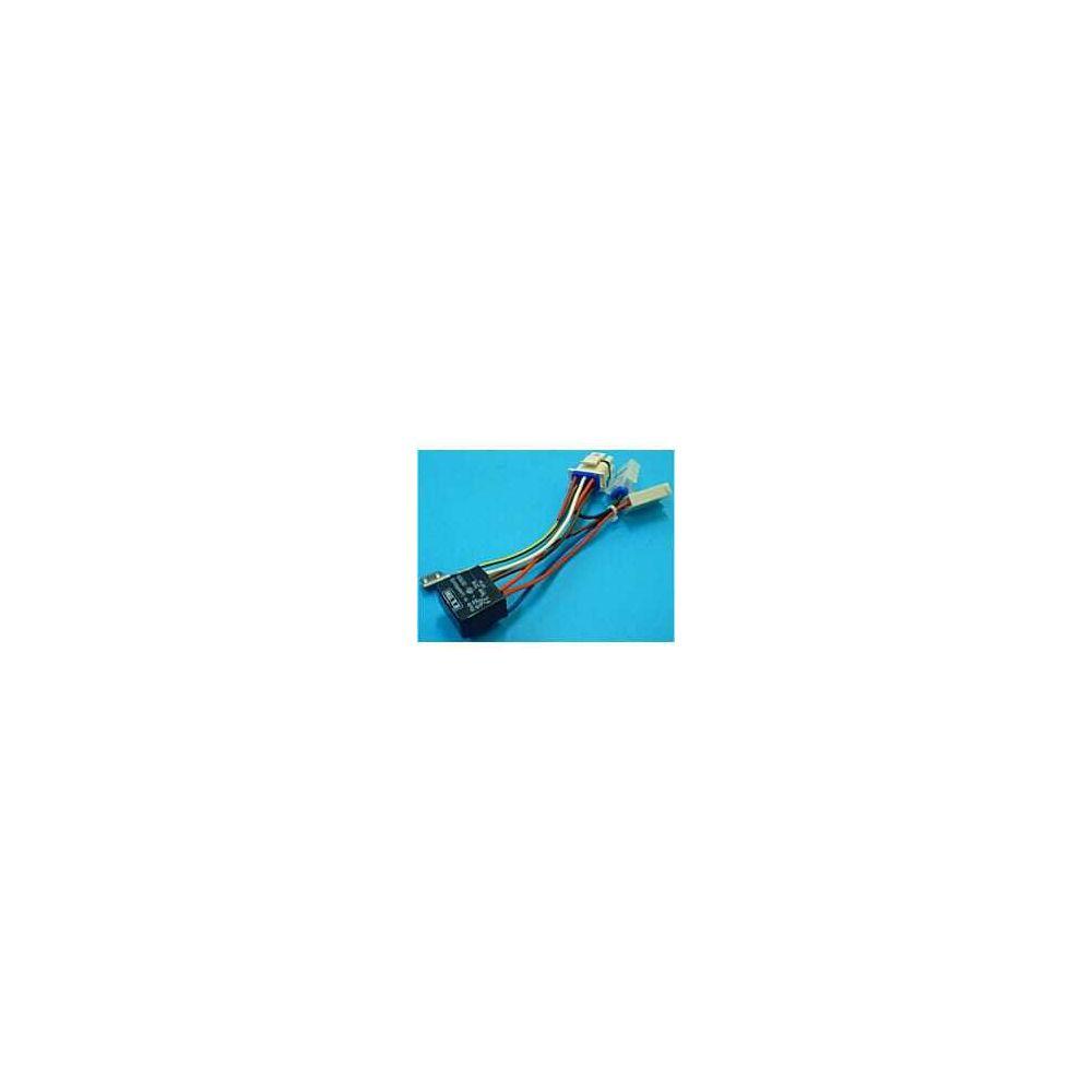 whirlpool Thermostat bi-metal + faisceau de cables pour Refrigerateur Bauknecht, Refrigerateur Ariston, Refrigerateur Indesit, Ref