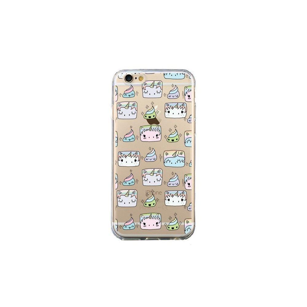 Apple - Coque iPhone 6 et 6S Licorne Unicorn Cute Swag Transparente - Claudia Ramos