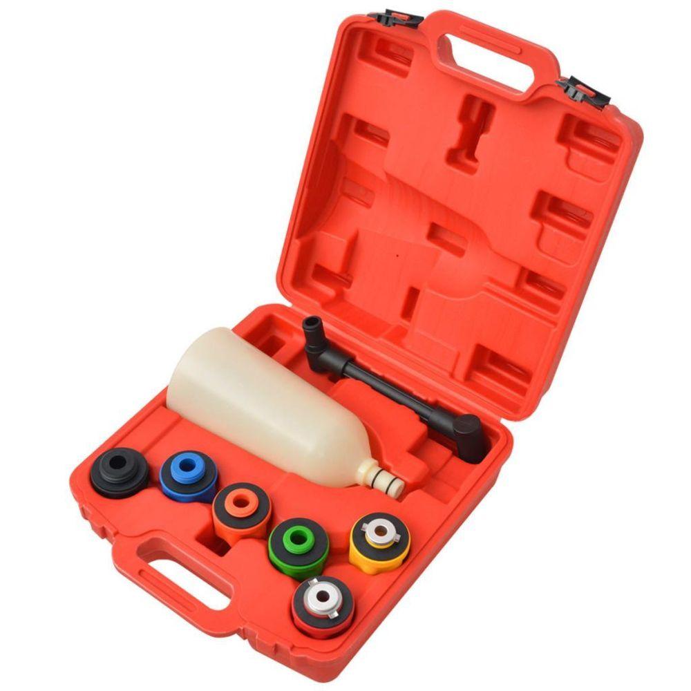 Vidaxl Kit de remplisseur d'huile moteur 8 pièces |