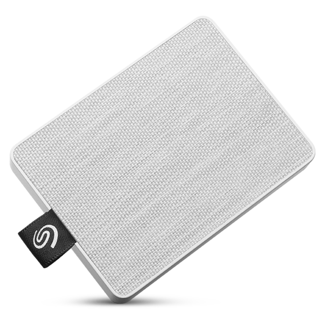 Seagate - One Touch SSD - 500Go - USB 3.0 - Blanc - Disque SSD Seagate