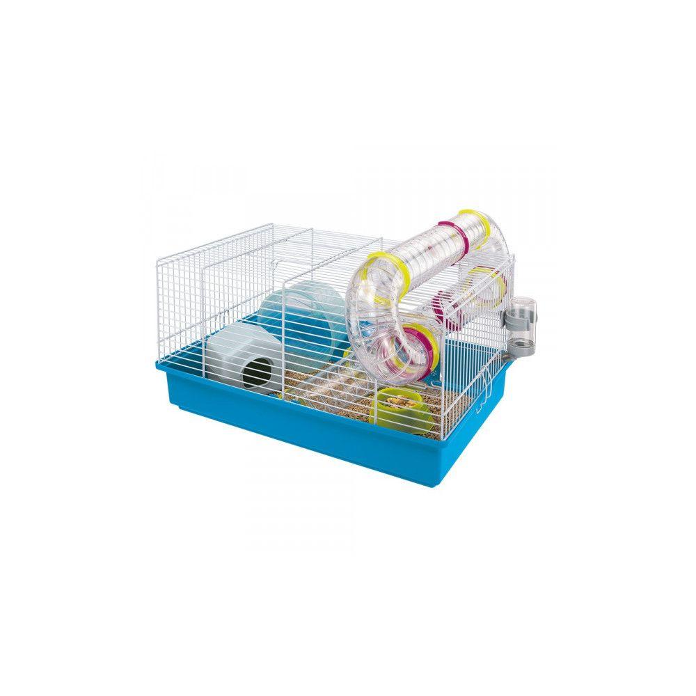 Ferplast Cage hamster Ferplast avec tunnel Paula blanche