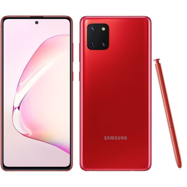 Samsung - Galaxy Note 10 Lite - 128 Go - Rouge Cardinal - Samsung Galaxy Note