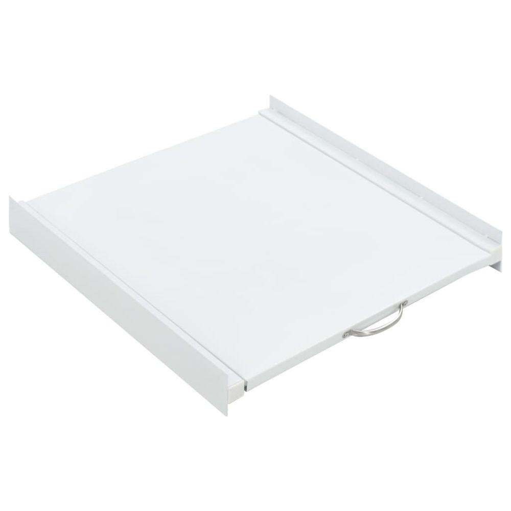 Vidaxl vidaXL Kit pour tour de lavage-séchage avec étagère coulissante
