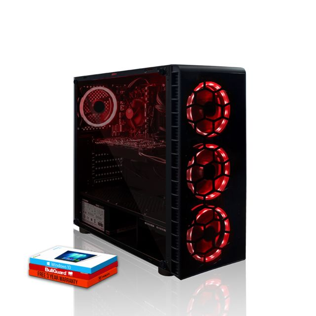Fierce Pc - Fierce Apex Gamer PC Intel Core i7 8700 6x4.6GHz 16Go RTX 2060 6Go Gaming Computer Ordinateur - Ordinateur de Bureau Gaming