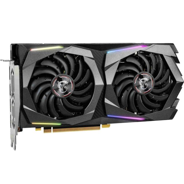 Carte Graphique NVIDIA Geforce GTX 1660 Super - GAMING X - 6 Go