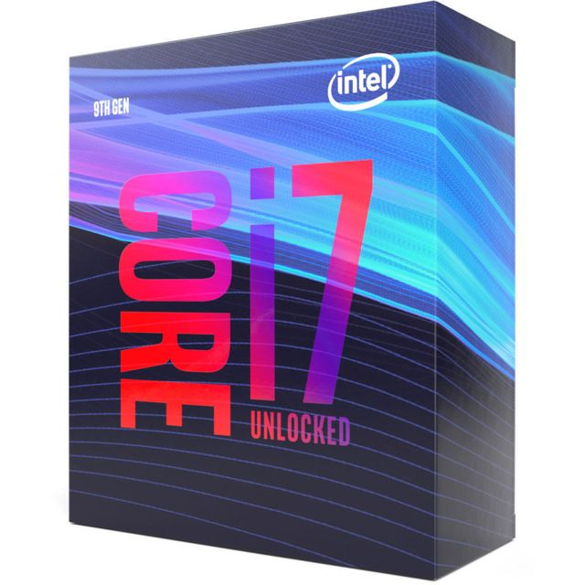Intel Core i7 9700K - 3,6/4,9 GHz + Intel Z390 MPG GAMING PLUS - ATX