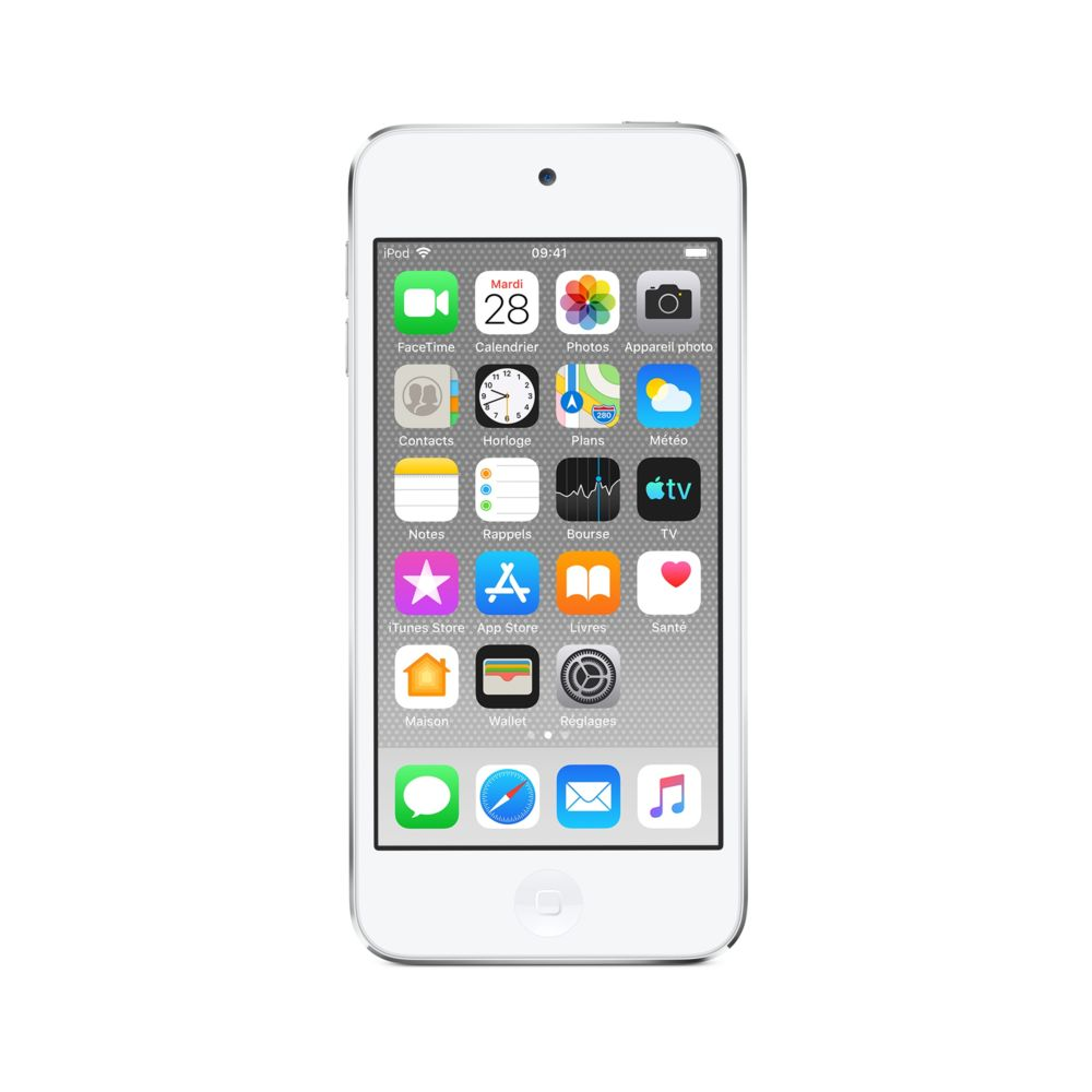 Apple iPod touch - 128 Giga - Argent