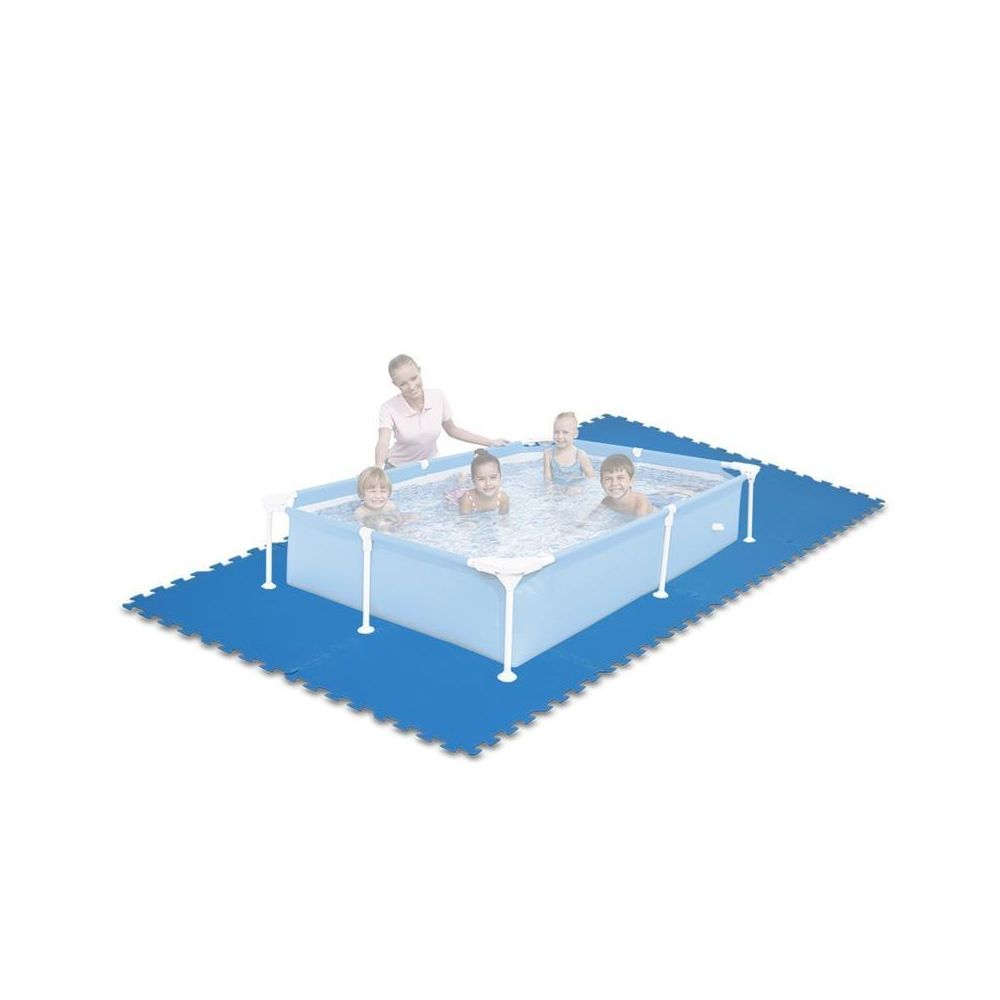 intex intex 29081 tapis de sol modulable pour piscines hors sol 50 x 50 cm