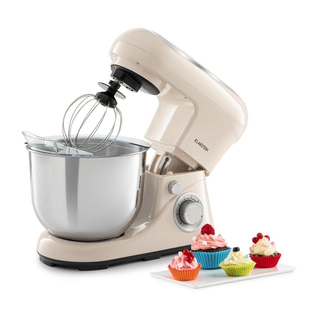 Klarstein Klarstein Bella Pico 2G Robot de cuisine 5 litres 6 vitesses 1200W - crème