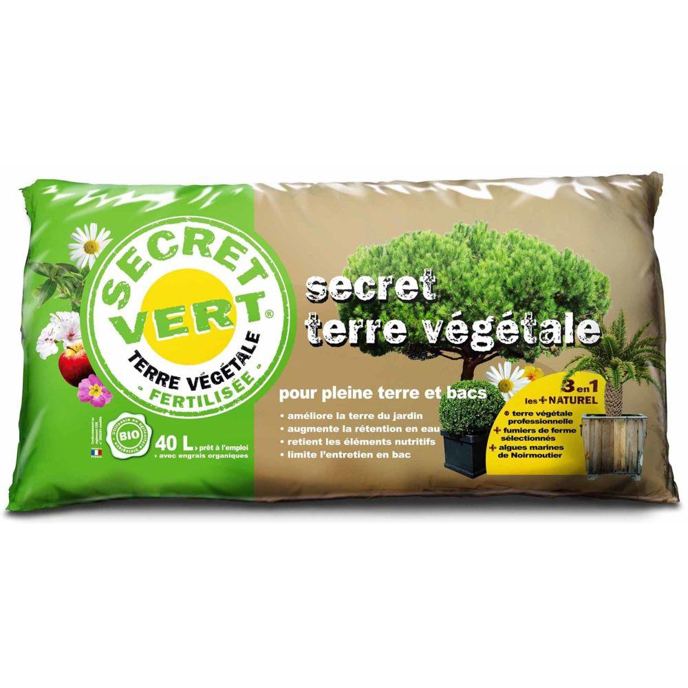 Secret Vert Terrreau bio secret terre végétale 40 litres