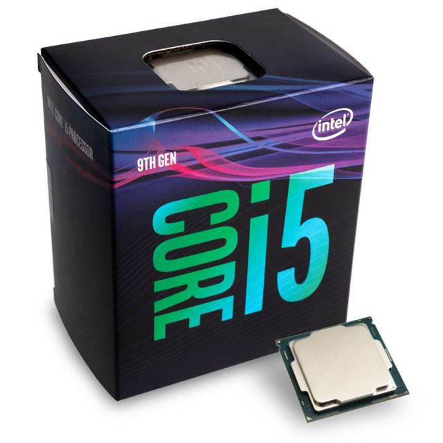 Intel - Intel Core i5-9600 3,1 GHz (Coffee Lake) Sockel 1151 - boxed Intel   - Processeur INTEL