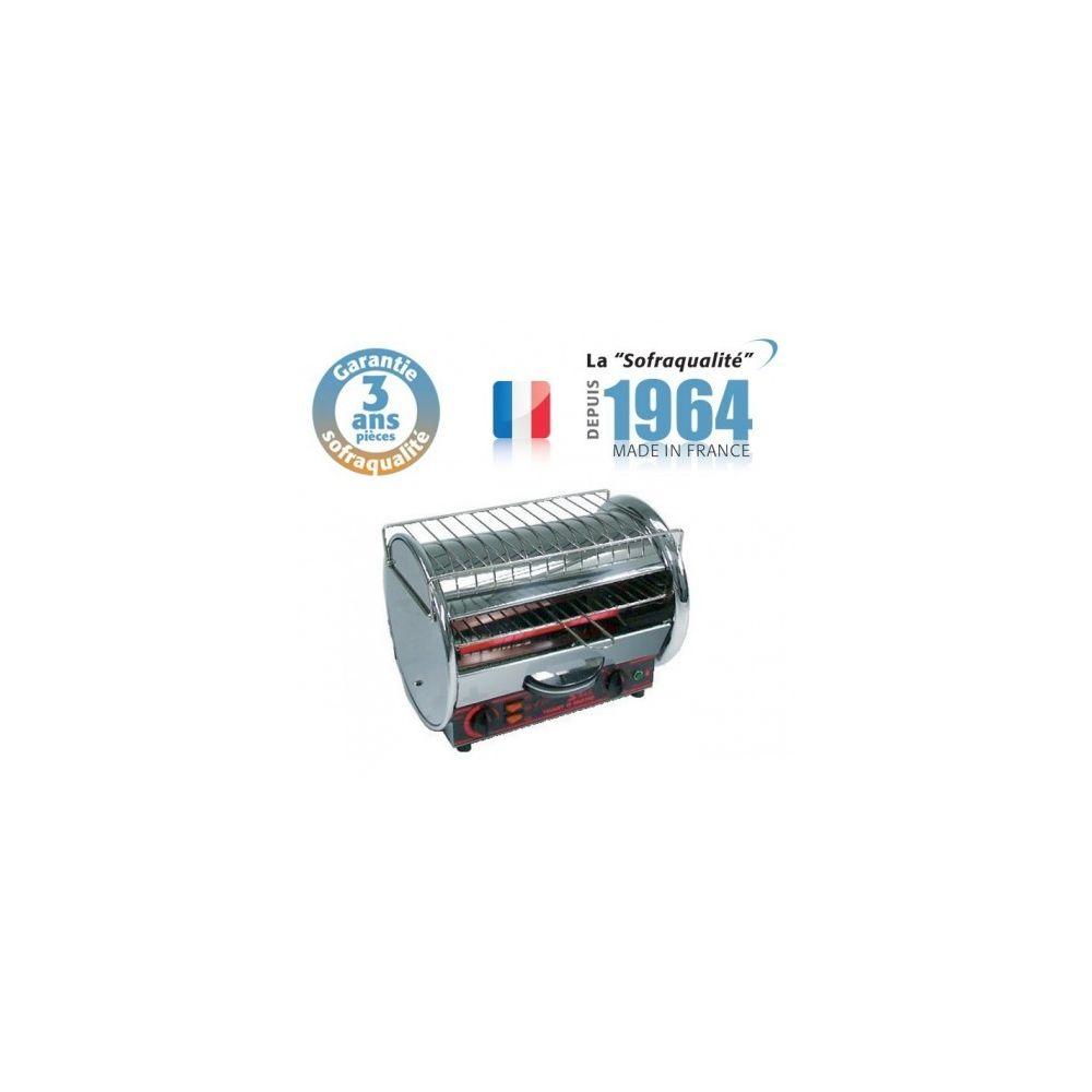 Sofraca Toaster Professionnel Multifonction avec Régulateur - 350 x 235 mm - 230 V - 1 Etage - Classic - Sofraca -