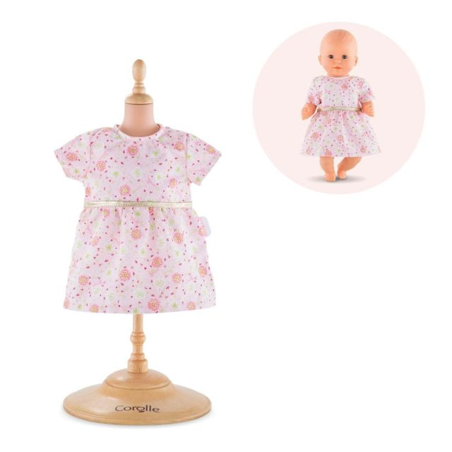 Corolle - BB30 Robe rose - Corolle