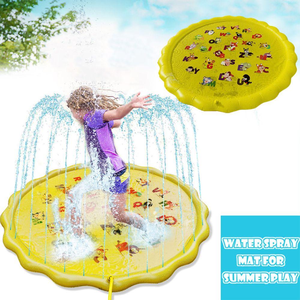 Generic Jouet extérieur de coussin d'eau de protection d'arroseur d'éclaboussure gonflable, piscine pour bébé Kiddie @7e edition