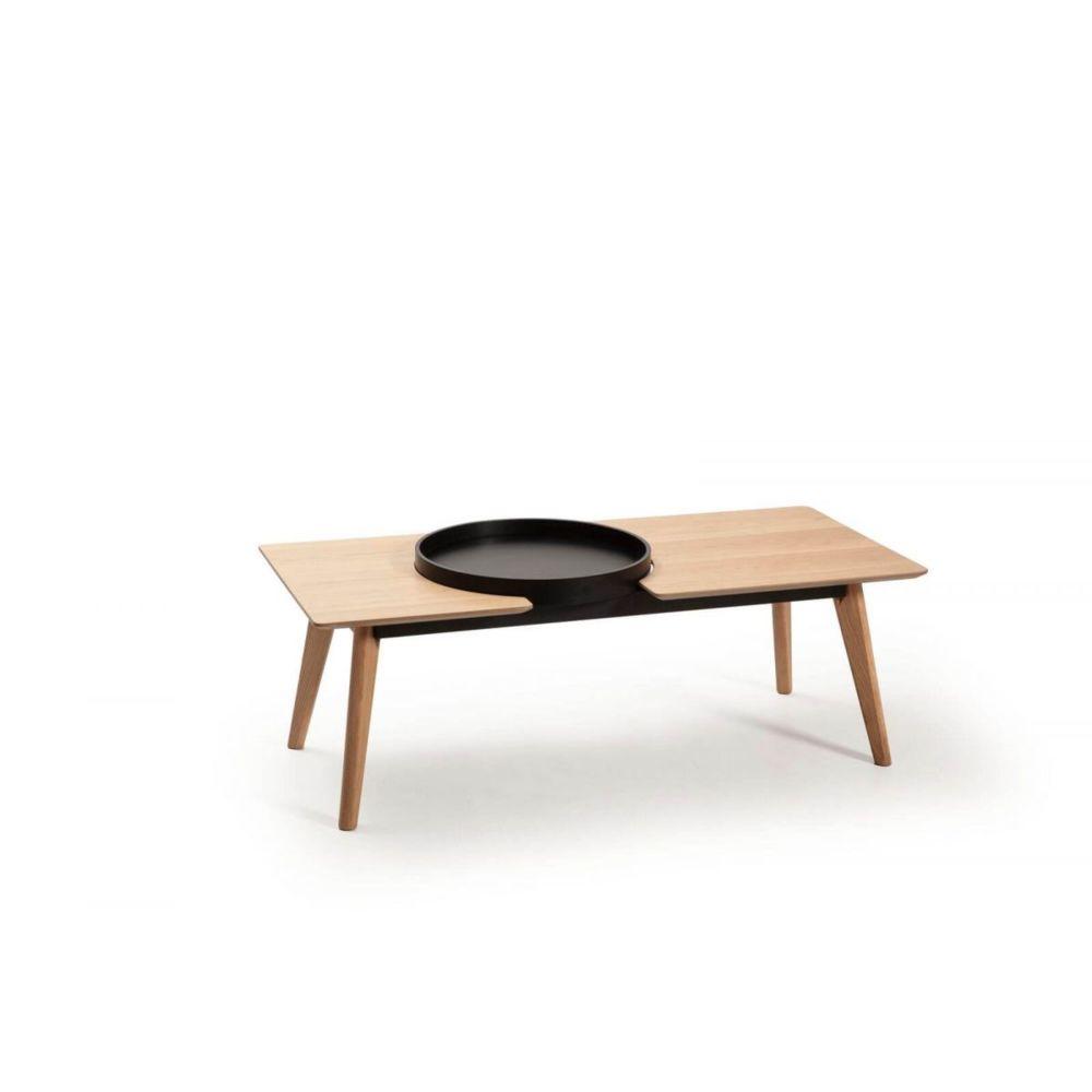 Bobochic BOBOCHIC Table basse NORI chêne clair