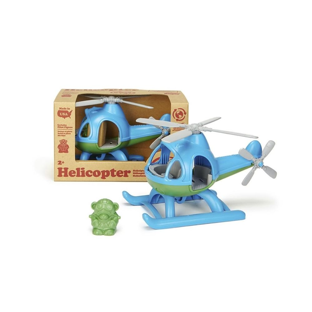 Green Toys Green Toys Helicoptere bleu
