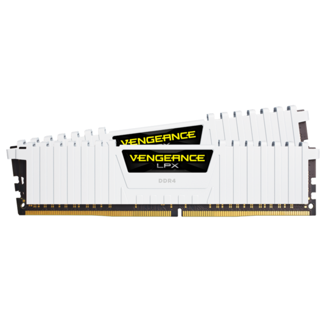 Corsair - Vengeance LPX White 16 Go (2x8 Go) 3000Mhz CL16 - RAM PC Fixe