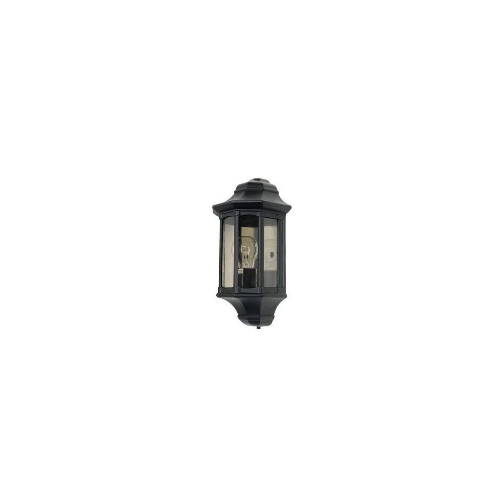 Garden Lights Applique Newbury 1x60W Noir
