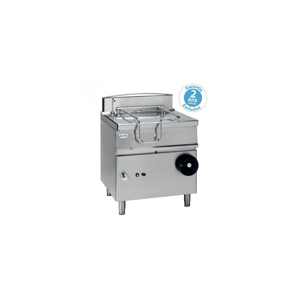 Materiel Chr Pro Sauteuse professionnelle basculante électrique - 80 litres - relevage manuel - Tecnoinox -