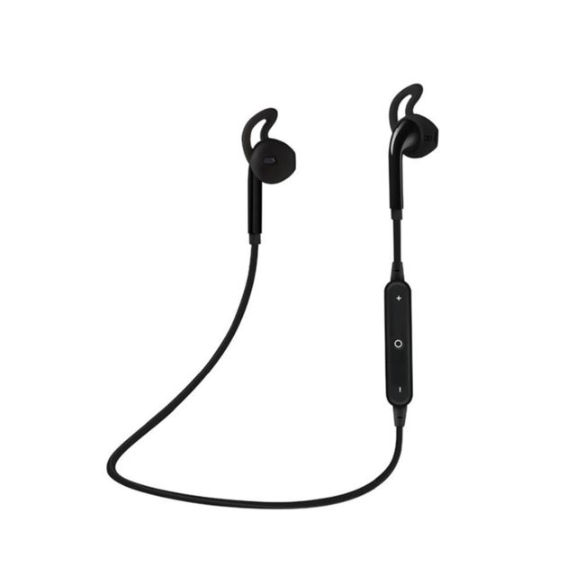 marque generique - YP Select Sports Bluetooth Headset S6 Stereo 4.1 Dual-Ear In-Ear Écouteurs Noir - Ecouteurs intra-auriculaires