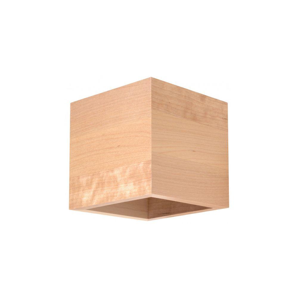 Luminaire Center Applique murale QUAD bois bois naturel 1 ampoule